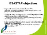 esastap objectives