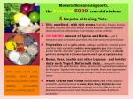 modern science supports the powerful 5000 year old wisdom 5 steps to a healing plate