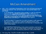 mccain amendment
