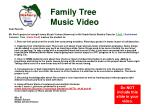 family tree music video1