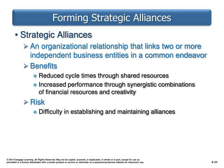 Forming Strategic Alliances