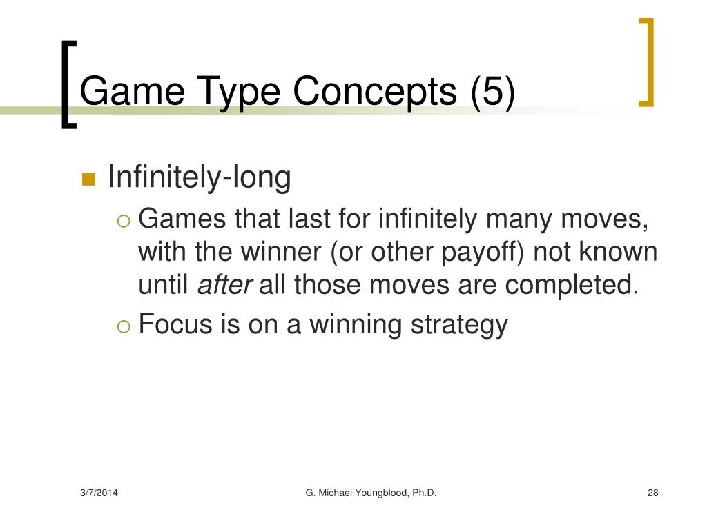 Game Type Concepts (5)