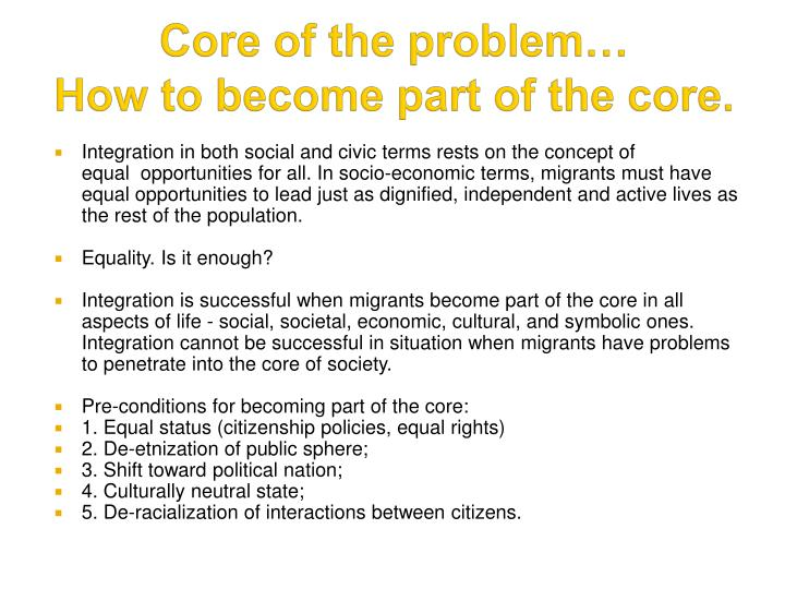 how has migration become public problem