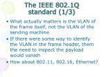 the ieee 802 1q standard 1 3
