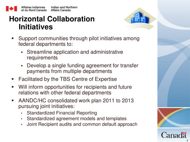 Support communities through pilot initiatives among federal departments to: