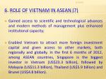 6 role of vietnam in asean 7