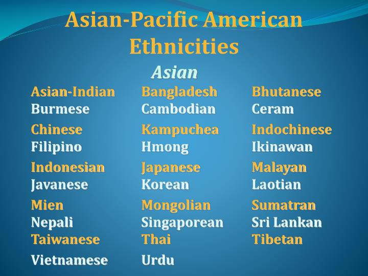 Asian-Pacific American