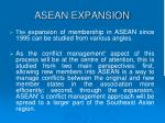 asean expansion