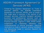 asean framework agreement for services afas