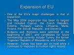 expansion of eu