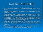 nafta rationale