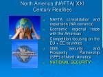 north america nafta xxi century realities