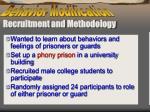 recruitment and methodology
