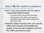 step 3 m onitor system s compliance3