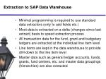 extraction to sap data warehouse1