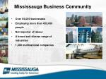 mississauga business community