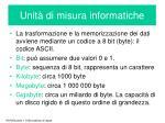 unit di misura informatiche