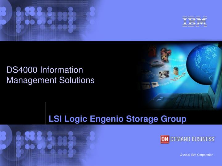 lsi logic engenio storage group n.