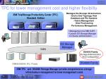tpc for lower management cost and higher flexibility