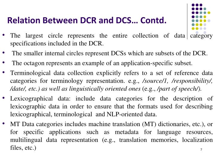 Relation Between DCR and DCS… Contd.