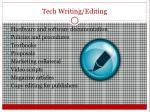 tech writing editing
