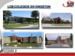 los colegios en kingston