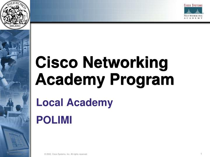 cisco networking academy program n.