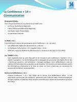 la conf rence 14 communication
