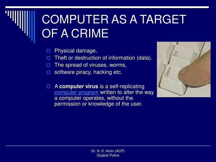 COMPUTER AS A TARGET