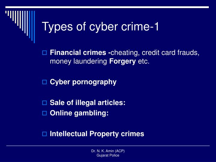 Types of cyber crime-1
