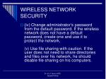 wireless network security1