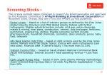 screening stocks 2