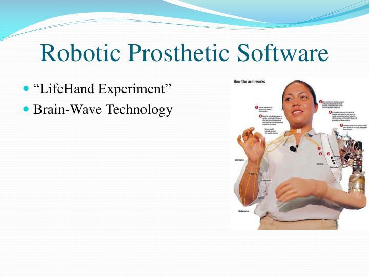 Robotic Prosthetic Software