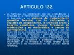 articulo 132