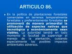 articulo 86