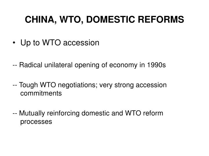 citibank in post wto in china essay China thus became the world's second-largest economy after the united states  in the original essay that coined the term,  according to citibank,.