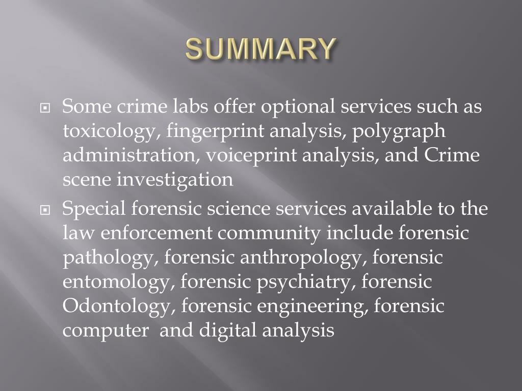 Ppt Forensic Science Powerpoint Presentation Free Download Id 1416065