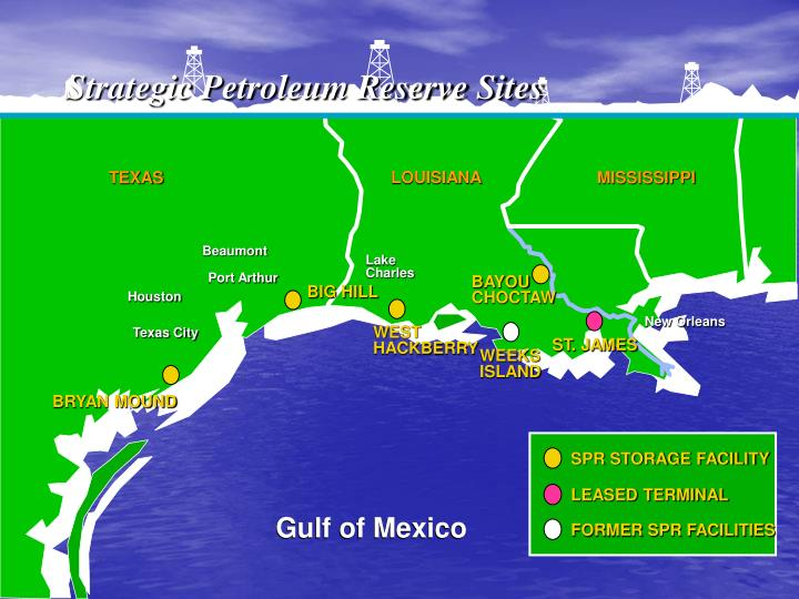 Strategic Petroleum Reserve Sites