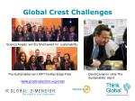 global crest challenges