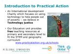 introduction to practical action