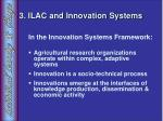 3 ilac and innovation systems