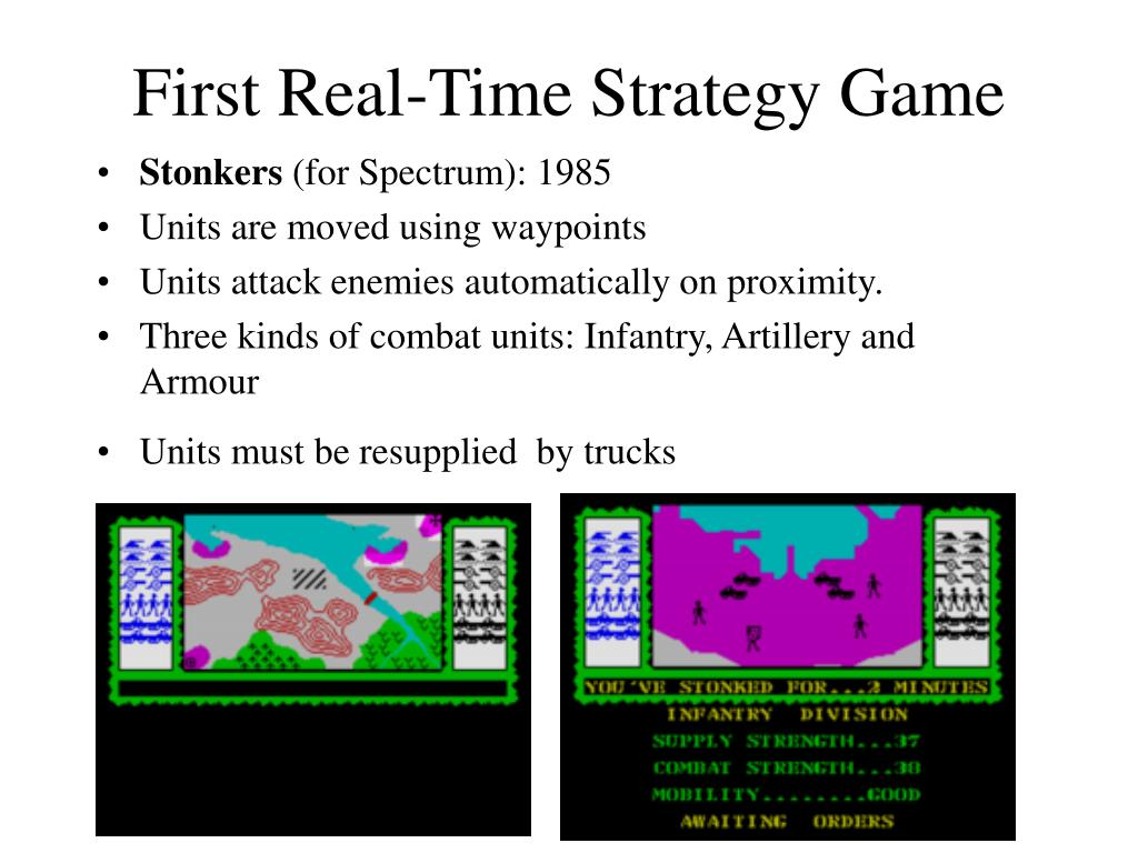 First Real-Time Strategy Game