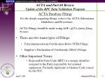 acta and part 68 review update of the rpc data validation program10
