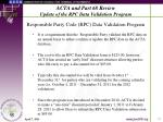acta and part 68 review update of the rpc data validation program12
