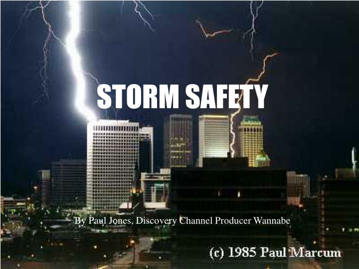 storm safety n.