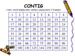 contig 3 dice record keeping sheet markers playing board 2 5 players