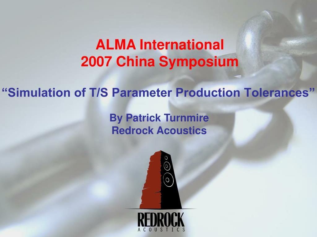 simulation of t s parameter production tolerances l.
