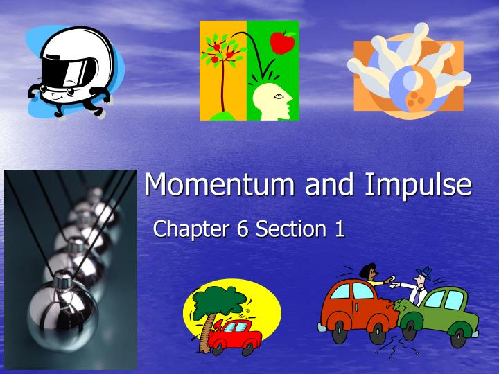 momentum and impulse n.