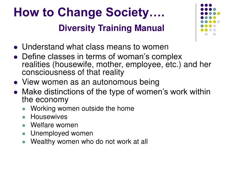 How to Change Society….