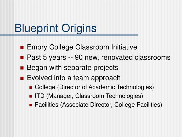 Blueprint Origins